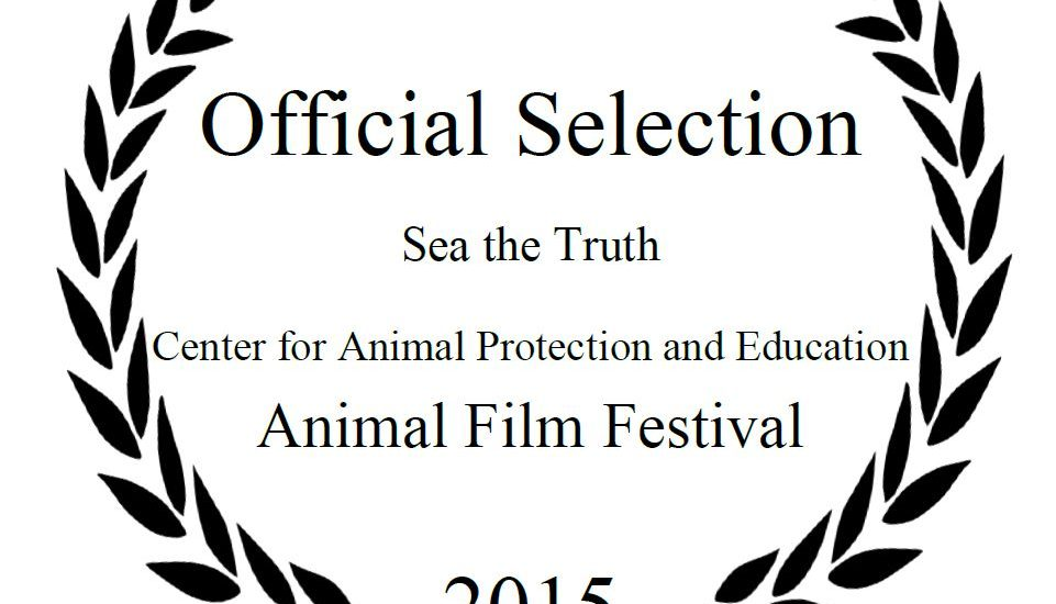 Sea the Truth officiële selectie Animal Film Festival