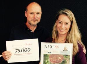 NGPF wint vakjuryprijs NRC Charity Awards
