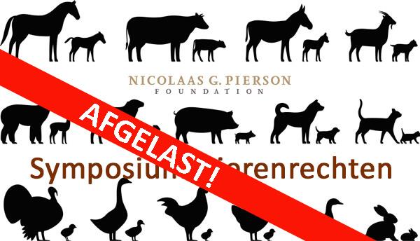 Symposium Dierenrechten 28 maart 2020 AFGELAST